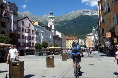 Fußgängerzone in Innsbruck