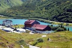 Das Zeinisjochhaus am Zeinissee