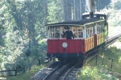 Museumsbahn bei Eben in Tirol
