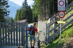 Grenzübergang nach Italien