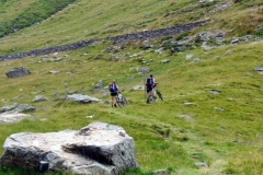 hinter der Moarerbergalm beginnt der Aufstieg zur Schneebergscharte