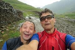 Nach unserem Ausflug bei der Schneeberghütte war kein trockener Faden mehr am Körper