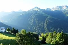 Hoch über dem Großen Walsertal