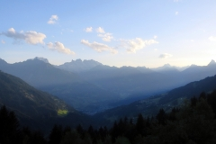 Blick vom Panoramagsthof Kristberg