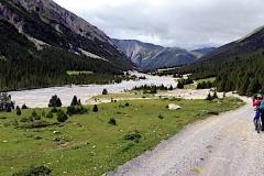 Der Talbeginn des Val Mora