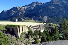 Staumauer Lago di Sa Giaccomo