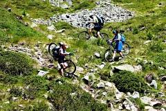 Abstieg vom Passo Confine Val Viola