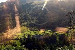 Bahnfahrt von Como nach Bregenz
