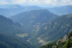 Der Blick vom Monte Maggio