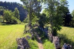 Sentiero della pace. Unterhalb des Ex Forte Belvedere – Gschwend