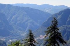 Blick vom Ex Forte Belvedere - Gschwend ins Val d Astico