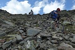 Abstieg vom Tarscher Pass