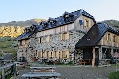 Haselgruber Hütte am Lago Corvo