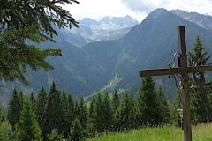 etwas oberhalb des Val Vermiglio auf dem Weg zum Passo Ponale