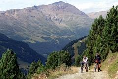 Auf dem Weg zum Rif. Pizzini-Frattola beim Passo Zebru