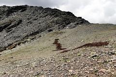 Stacheldraht am Passo Zebru