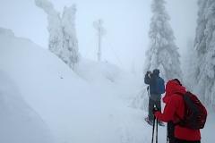 Das Gipfelkreuz am Kleiner Arber