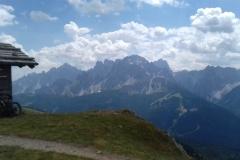 Blick in die Sextener Dolomiten