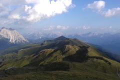 Vom Knieberg aus der Blick nach Osten