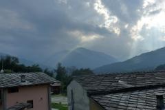 Wolken über Paesana