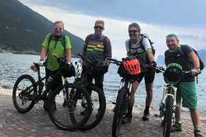 In Zeiten von Corona vom Brixental durch die Dolomiten zum Gardasee