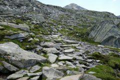 Aufstieg zum Krimmler Tauern - Grenzpass Österreich Italien
