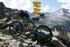 Krimmler Tauern - Grenzpass Österreich Italien