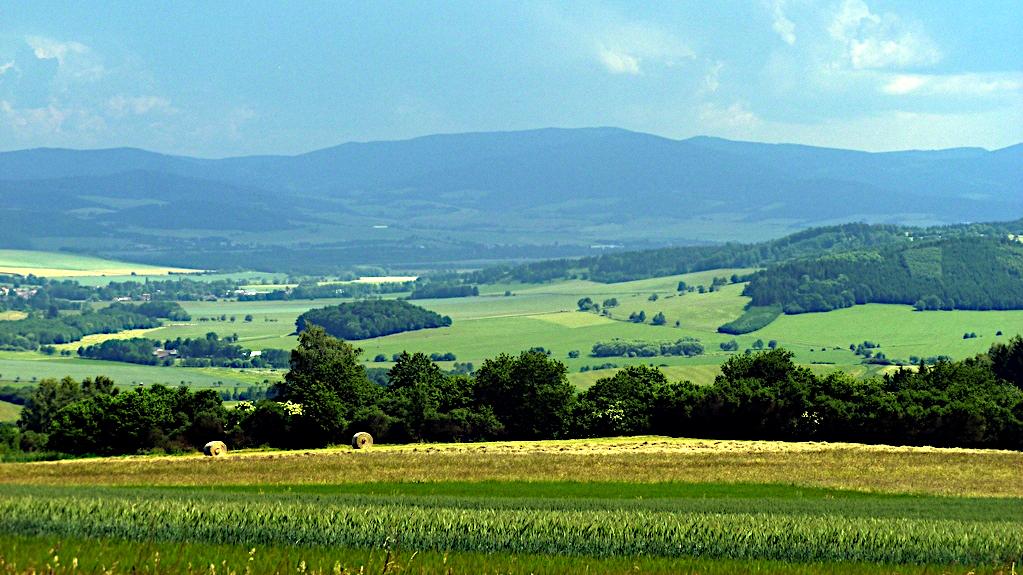 Landschaft bei Kdyne in Tschechien