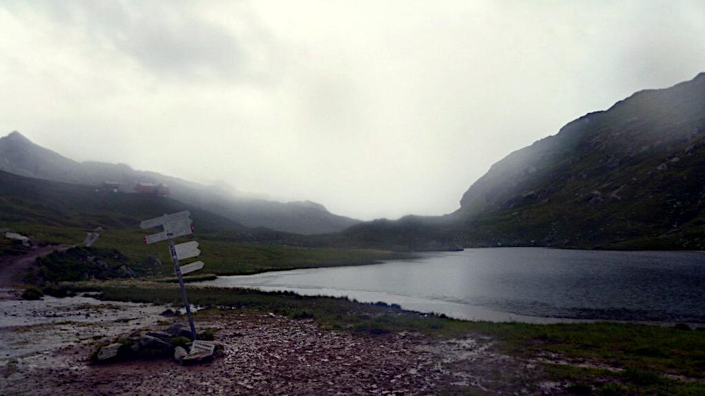 Scheindseen bei Regen -Transalp vom Bodensee zum Comer See