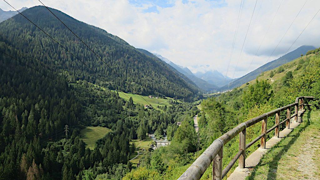 Ein weiter Blick ins Val di Vermiglio