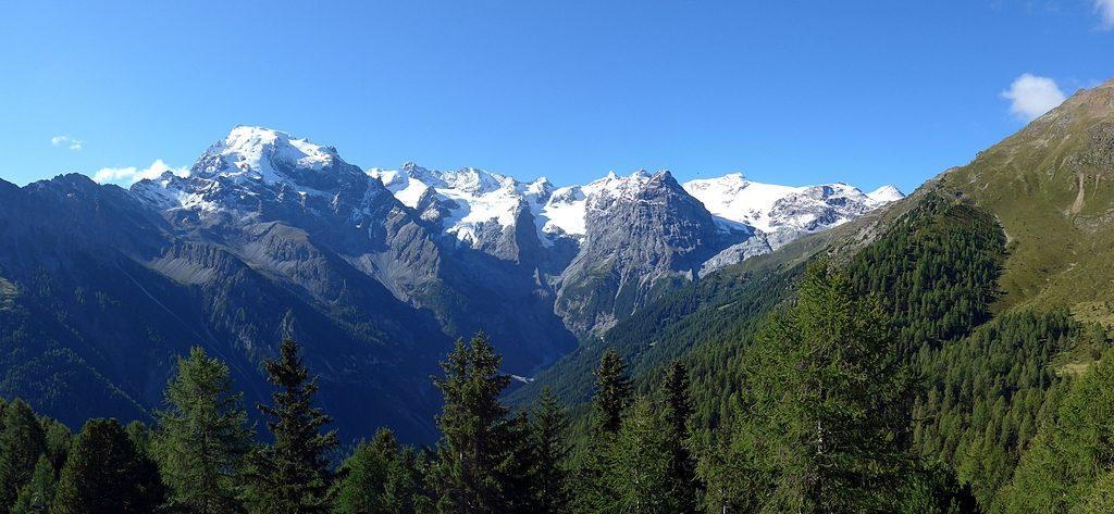 Blick in die Ortler-Alpen
