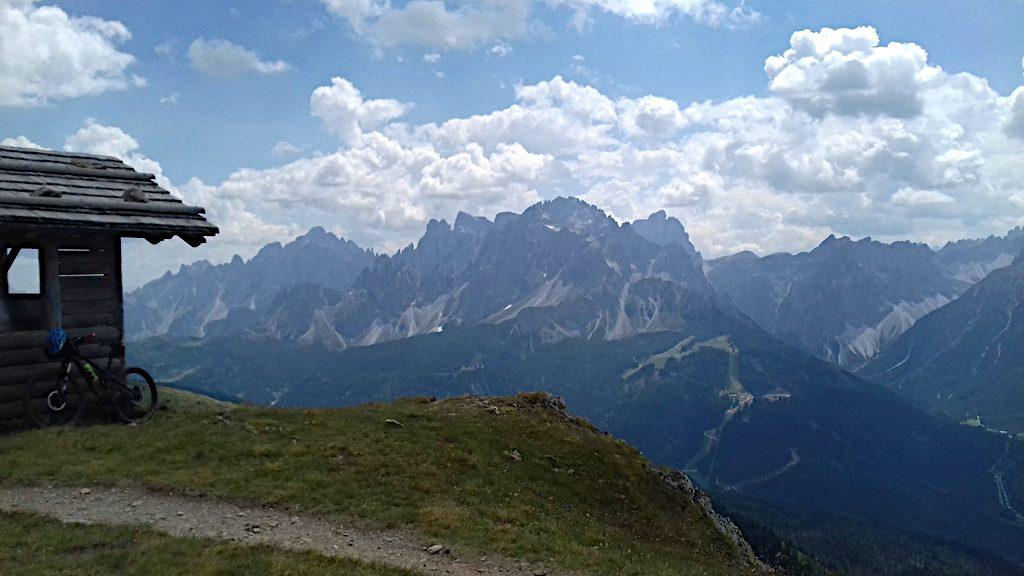 Blick hinüber zu den Sextener Dolomiten