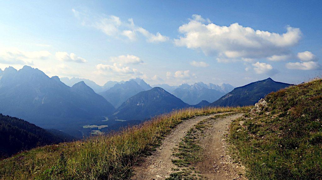 Val Dignas in den Karnischen Alpen