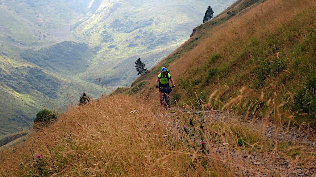 Auf einem schönen Weg ins Val Grande nach Timau in den Karnischen Alpen