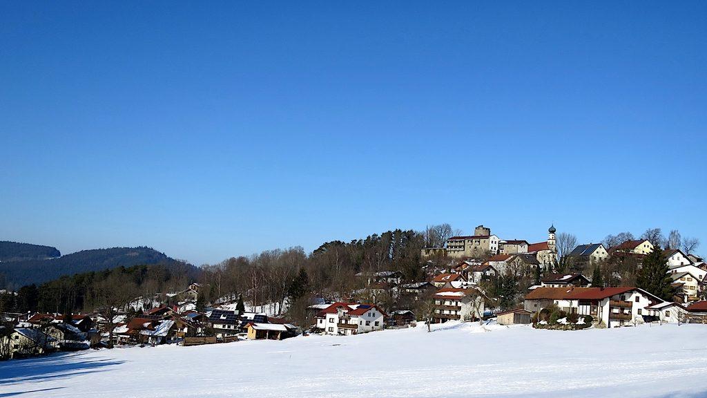 Kolnburg im Schnee