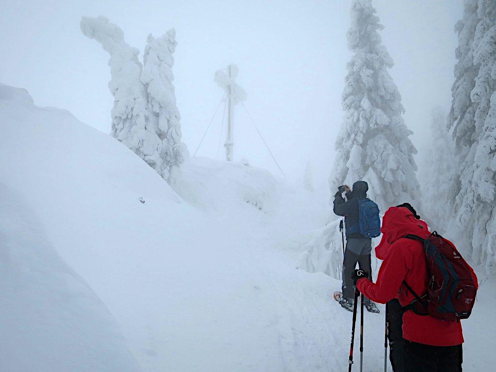 Gipfelkreuz am Kleinen Arber