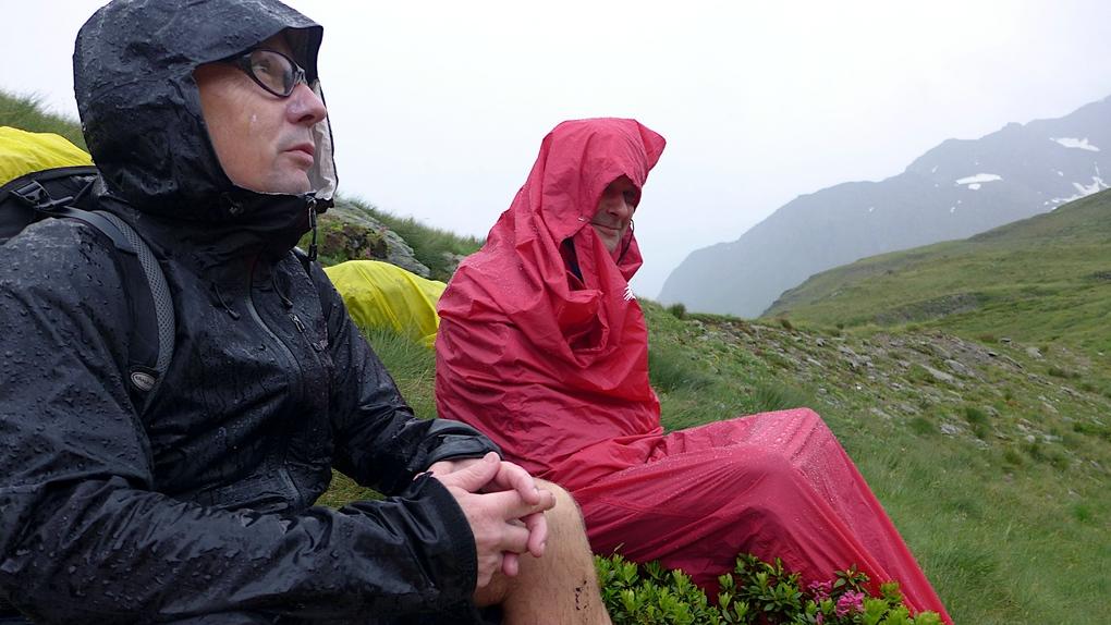 Ein Gewitter im Gebirge